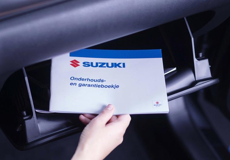 Suzuki onderhoudsboekje